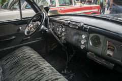Inside of a Vintage Buick car Royalty Free Stock Photos