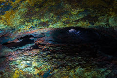 Inside the Volcano Stock Photography