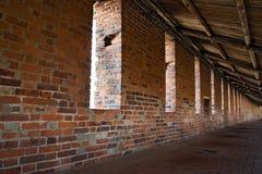 Inside of wall in Nizhny Novgorod Kremlin Stock Photos