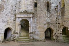 Inside Wardour Castle Royalty Free Stock Photos