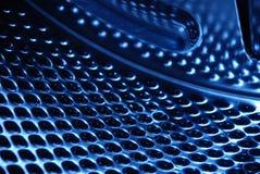 Inside a washing machine. Closeup of the inside of a washing machine drum Stock Photography