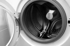 Inside Washing Machine Stock Photo