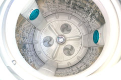 Inside the washing machine. Royalty Free Stock Images