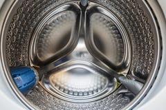Inside Washing machine stock photography