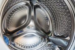 Inside Washing machine stock image