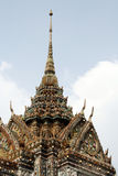 Inside Wat Arun Temple. Roof detail at Wat Arun Temple in Bangkok, Thailand Royalty Free Stock Photos