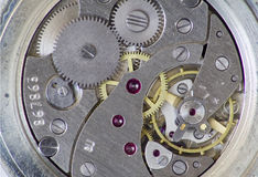 Inside a watch Royalty Free Stock Photo