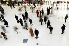 Inside Waterloo Station Stock Image