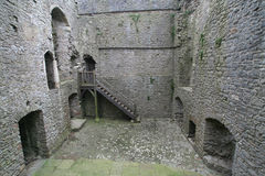 Inside Weobley castle Royalty Free Stock Image