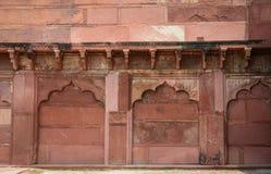 Inside widok Agra fort w Agra, India Obraz Stock