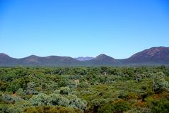Inside Wilpena Pound, Flinders Ranges Royalty Free Stock Photo
