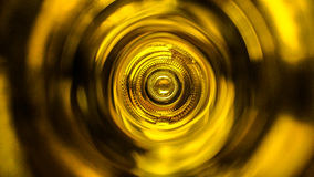 Inside a wine bottle Stock Photography