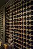 Inside wine cellar stock photo