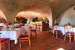Inside wine estate restaurant Royalty Free Stock Photos