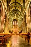 Inside the Xanten Cathedral Stock Photos