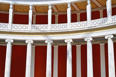 Inside of the Zappeion Megaron Hall of Athens Greece Royalty Free Stock Photos