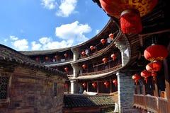 Inside ziemia kasztel, południe Chiny Fotografia Royalty Free