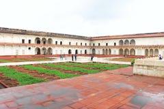 Inside ziemie Agra fortu ind Obraz Stock