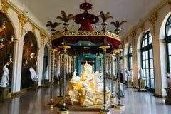 Inside Zwinger pałac muzeum Obraz Royalty Free