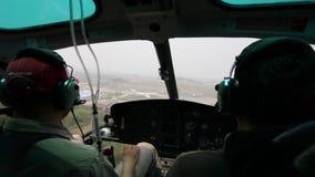InsideHelicopter Fotos de Stock Royalty Free