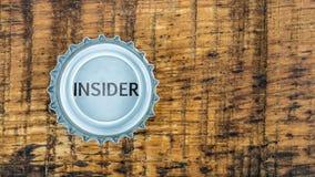 Insider information Stock Images