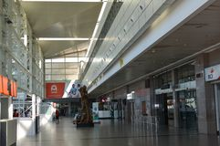 An insider photo of Maputo International Airport. Maputo International Airport, also known as Lourenço Marques Airport or Mavalane International Airport, is an Royalty Free Stock Images