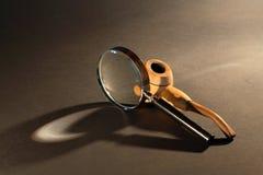 Insieme antiquato classico dell'agente investigativo Immagine Stock Libera da Diritti