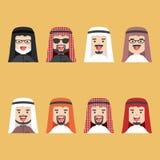 Insieme arabo dell'uomo Immagine Stock Libera da Diritti