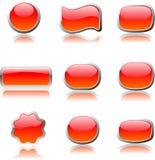 Insieme arancione del aqua di percorso di Web Fotografia Stock Libera da Diritti