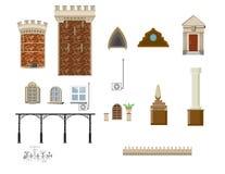 Insieme architettonico della decorazione Fotografie Stock Libere da Diritti