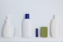 Insieme bianco in bianco del modello di progettazione del modello del tubo Fotografie Stock