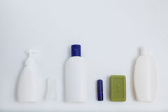 Insieme bianco in bianco del modello di progettazione del modello del tubo Immagine Stock