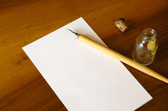 Insieme calligrafico 01 Immagini Stock