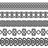 Insieme celtico del nodo illustrazione vettoriale