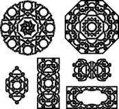 Insieme celtico dell'ornamento Fotografia Stock Libera da Diritti