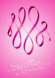 Insieme contro cancro della mammella Fotografia Stock