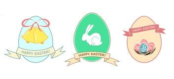 Insieme d'annata di Pasqua Immagine Stock