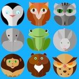 Insieme degli animali illustrazione vettoriale