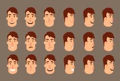 Insieme degli avatar royalty illustrazione gratis