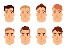 Insieme degli avatar illustrazione di stock