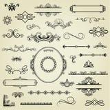 Insieme degli elementi di disegno. illustrazione vettoriale