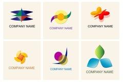 Insieme degli elementi di logo royalty illustrazione gratis