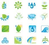 Insieme degli elementi e delle icone di disegno. Fotografia Stock