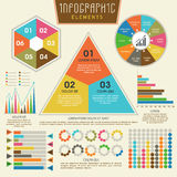 Insieme degli elementi infographic variopinti per l'affare Fotografia Stock Libera da Diritti