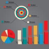 Elementi di Infographics Immagine Stock
