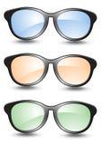 Insieme degli occhiali da sole Fotografia Stock