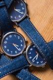 Insieme degli orologi Fotografie Stock Libere da Diritti