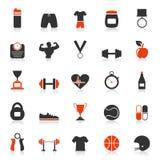 Forma fisica un icon2 Immagine Stock