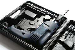 Insieme degli strumenti della costruzione fotografia stock libera da diritti