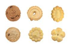 Insieme dei biscotti differenti Immagini Stock Libere da Diritti